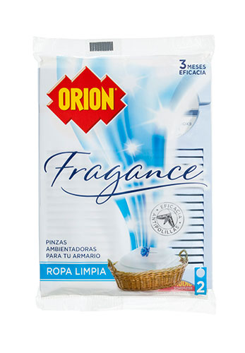Pinza fragance ropa limpia